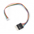 Breadboard to GHR-06V Cable - 6-Pin x 1.25mm Pitch (Single Connector)