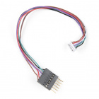Breadboard to JST-ZHR Cable - 6-pin x 1.5mm Pitch (Single Connector)