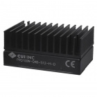 Isolated DC/DC Converter - 100W, 9-36Vdc input, 48Vdc, 2.1A, Single Regulated Output, DIP, w/ Heat Sink