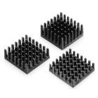 Heatsink - 25mm SQ, 8.89mm fin, Thermal Tape, Adhesive