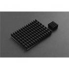 Black Aluminum Heatsink Kit for Raspberry Pi 4B