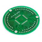 TQFP80 Breakout Board 0.5mm Pitch