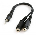 Audio Splitter 3.5mm - 6in