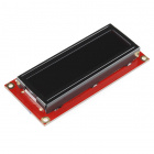 SparkFun Serial Enabled 16x2 LCD - Amber on Black 3.3V