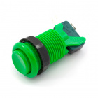 Concave Button - Green