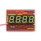 7-Segment Display - 4-Digit (Yellow)