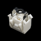 Solderless LED Holder - Plastic Contact Carrier/Retention Clip