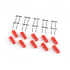 JST Male 2 pin connector set (10pcs/set)
