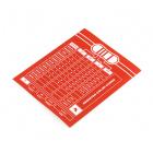 SparkFun Resistor Chart Sticker