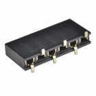 "Header - 6-pin Female (SMD, 0.1"")"