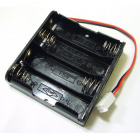 Battery Holder - 4xAA Square Terminated