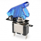 Toggle Switch and Cover - Illuminated (Blue)