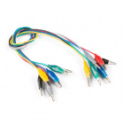 Alligator Test Leads - Multicolored (7 Pack)