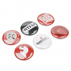 SparkFun Lab Coat Buttons - 6 Pack