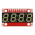 SparkFun 7-Segment Serial Display - Yellow