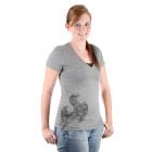 SparkFun Women's Tee Gray - Xtra Large