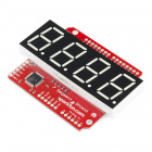 SparkFun OpenSegment Shield - Green (20mm)