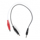 Audio Cable to Alligator Clips - 2.5mm