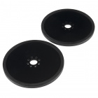 "Precision Disc Wheel - 4"" (Black, 2 Pack)"