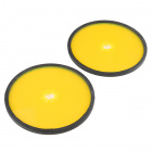 "Precision Disc Wheel - 5"" (Clear Yellow, 2 Pack)"