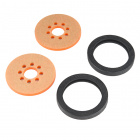 "Precision Disc Wheel - 2"" (Orange)"