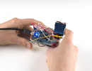 mbed accelerometer lcd