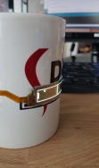 Flexible oled coffeecup