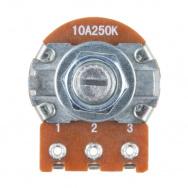 14623 rotary potentiometer   250k ohm  logarithmic  panel mount  03