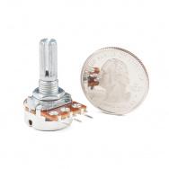 14624 rotary potentiometer   100k ohm  logarithmic  panel mount  03a