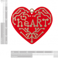 14640 heart   surface mount soldering kit 02