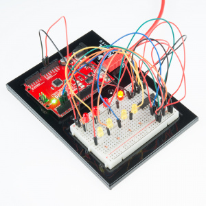 Shift Register with SparkFun Inventor's Kit V3.3