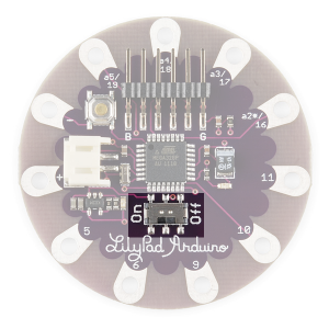 LilyPad Arduino Simple Battery Power Switch