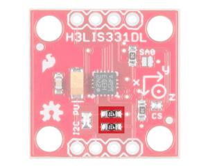 I2C Resistors Highlighted