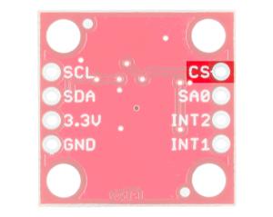 CS Pin Highlighted