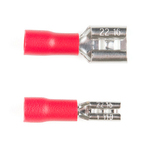 Different Sizes for Female Spade Connector