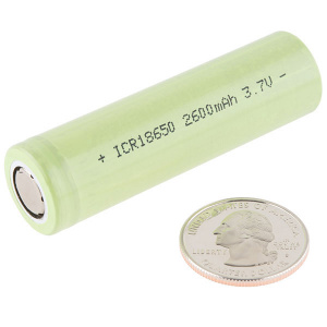 Round High Capacity LiPo Battery