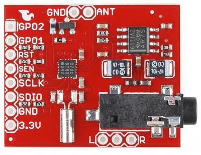 Si4707 Breakout Board