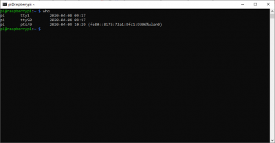 List user terminals