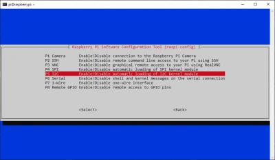 enable i2c