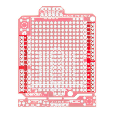 Arduino Uno R3 Footprint