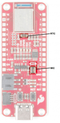 PDM Microphone and RTC on RedBoard Artemis Thing Plus