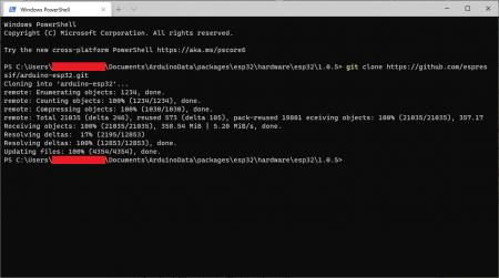 cloning GItHub repo into folder