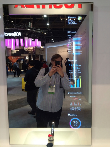 High Permeability Front Glass LCD. A mirror-like LCD.