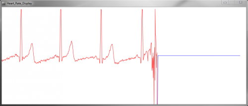 Heart Rate in Processing with Sensor Disconnected from User