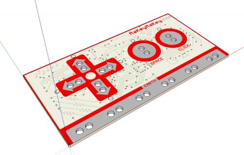 MaKey MaKey EagleUP SketchUp Model