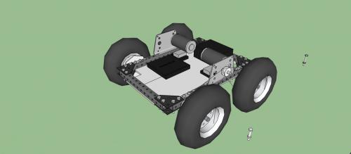 SketchUp Robot Draft