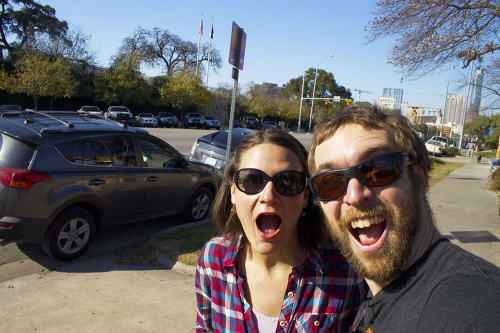 Amanda & Dave on Congress Street