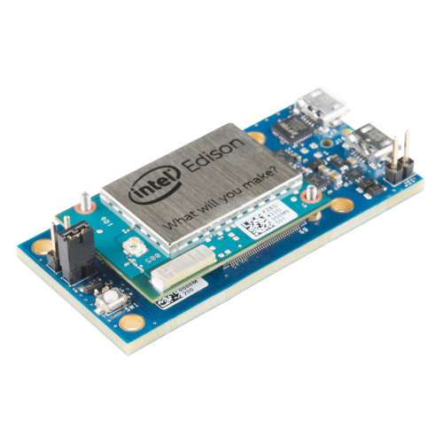 Announcing the intel edison and sparkfun blocks news