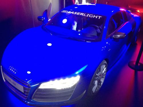 Audi Laser Headlights