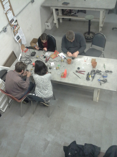 January soldering class
